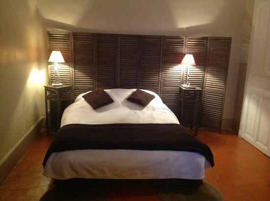 Auberge de la Pousaranque: notre chambre