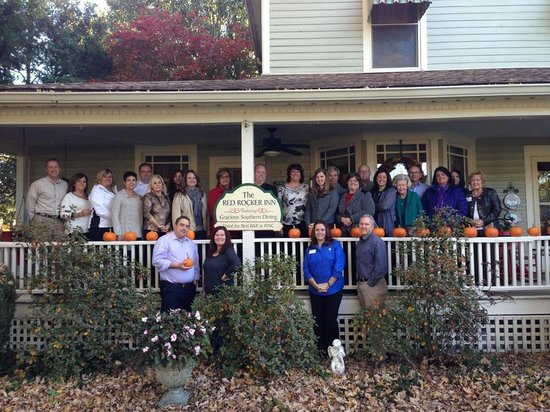 Red Rocker Inn: Cleveland County Chamber Fall Planning