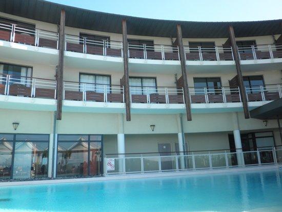 Hotel Bellepierre : vue de l'hotel