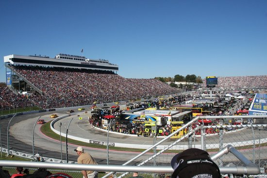 Track View From Seats Picture Of Martinsville Speedway