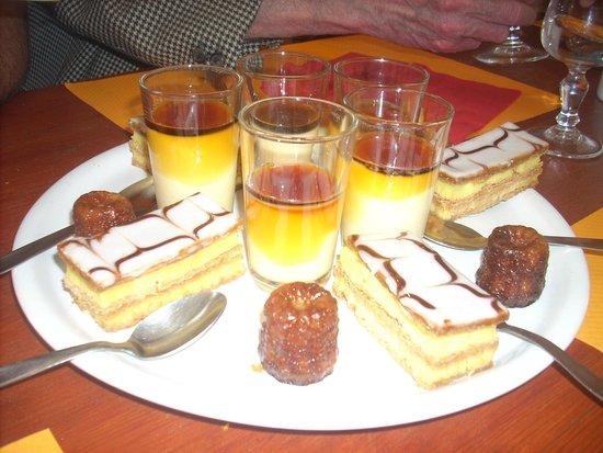 Repas entre amis photo de le bistro 287 cestas for Dessert repas entre amis