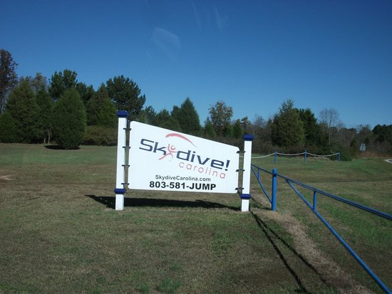 Skydive Carolina!: sign