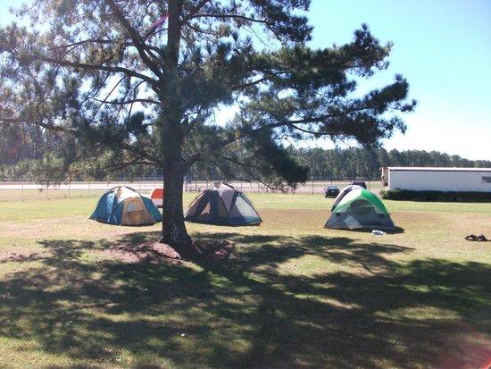 Skydive Carolina! : camping