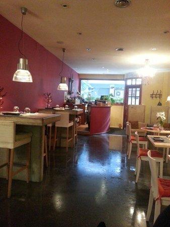 Bodega Poblet: La salle du restaurant