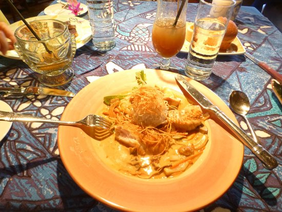 A delicious entree picture of mama 39 s fish house paia for Mama s fish house