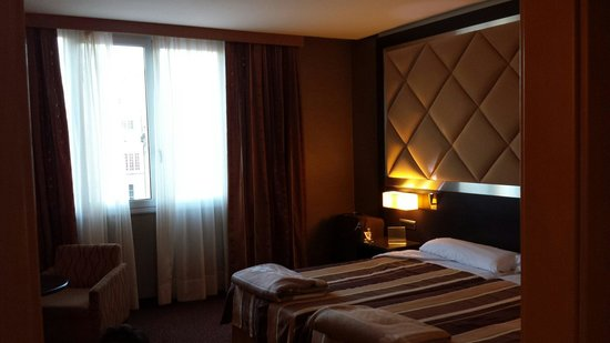 HCC St. Moritz : Lovely room on 4th floor