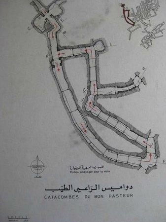 Sousse Catacombs : 地図