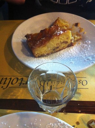 Osteria Da Bortolino: torta di mele