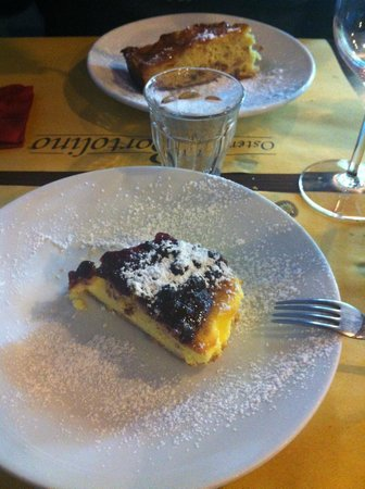 Osteria Da Bortolino: cheesecake