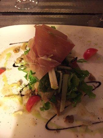 Chez Laeticia : Mushroom tartine starter