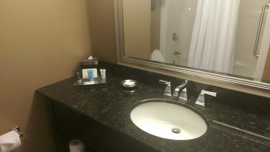 Crowne Plaza Columbus Downtown: Bathroom