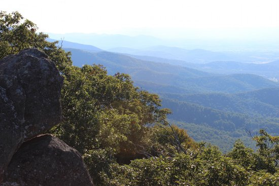 Mary's Rock Summit Trail: Another view from the summit overlook