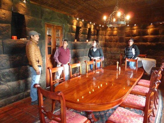 Hacienda San Agustin De Callo: Comedor Inca