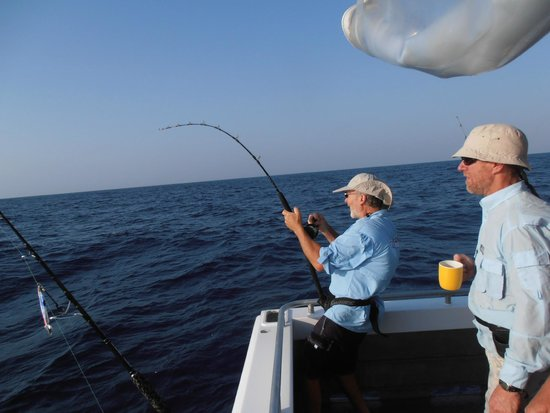 Arafura Bluewater Charters: lots of bent rods
