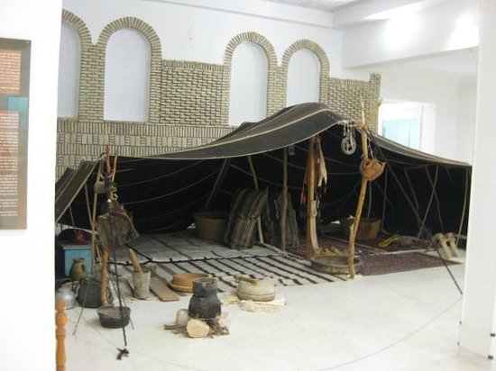 Douz, Tunisia: テント