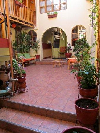 Hotel Casona les Pleiades : Courtyard