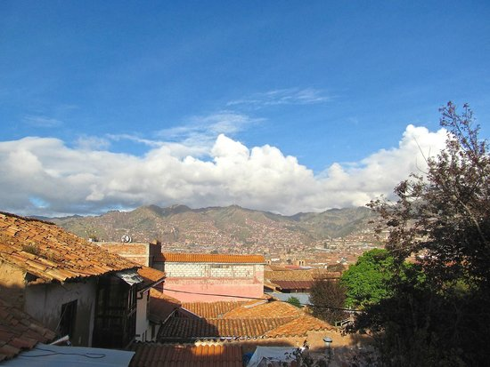 Hotel Casona les Pleiades : View from Room # 5
