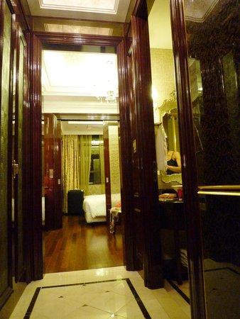 Hotel Artnouveau Seocho: 入口から