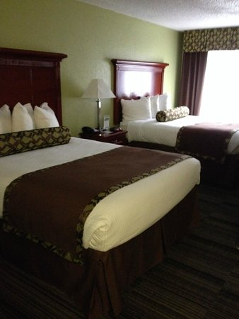 Alexis Inn & Suites Nashville Airport Opryland: our room