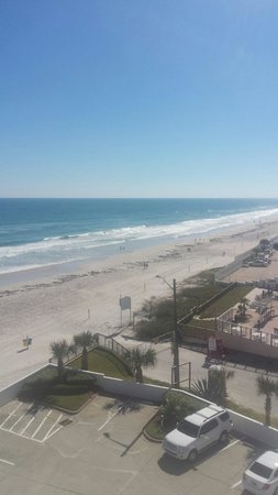 Tropical Winds Oceanfront Hotel: View from 603
