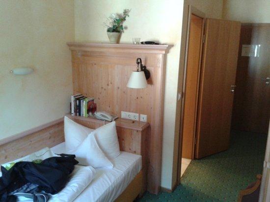 Vitalhotel Grüner Baum: one person room