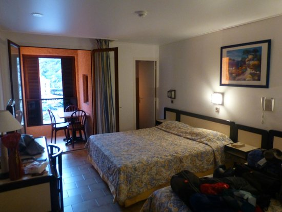 Hotel Le Subrini : Double room with balcony