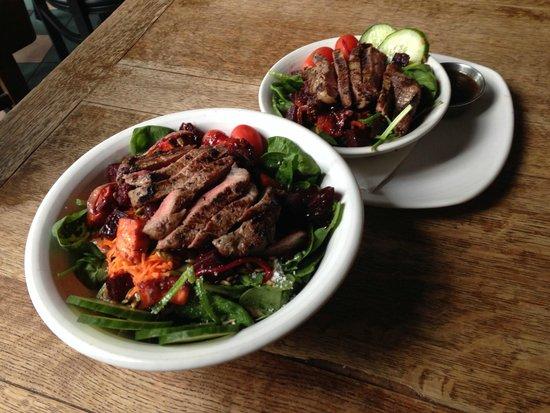 Acme Food Company : Warm Winter Salad with Steak