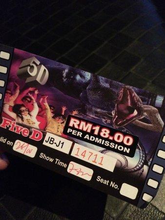 5D Mini Motion Cinema: Ticket