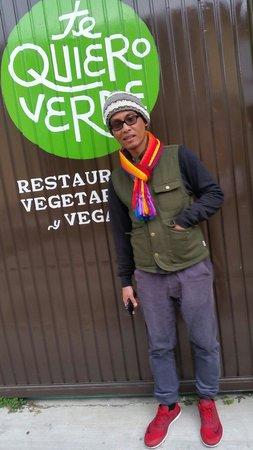 Te Quiero Verde: The entrance