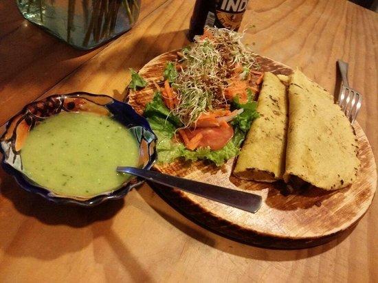 Te Quiero Verde: Yummy caramelised mushroom and wrap