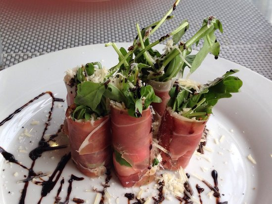 Cannon Beach Cafe: Prosciutto salad! Fabulous!