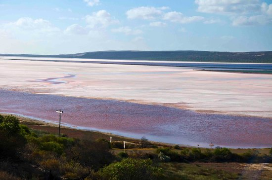 Port Gregory Beach: Salt lake