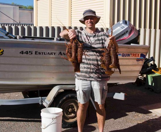 Kalbarri, Australia: Port gregory crays