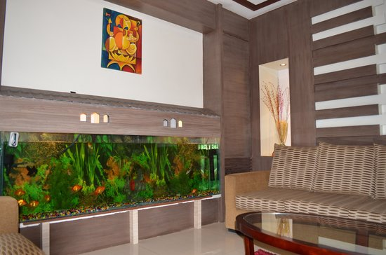 Mirage Lords Inn, Kathmandu: hotel lobby