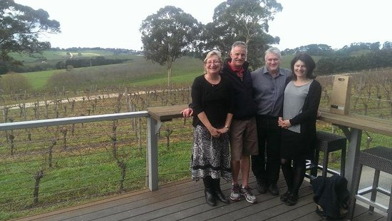 Barossa Valley, Australia: Tasmanian Guests at The Lane Vineyard Adelaide Hills