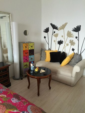 Seevilla Wolfgangsee: Sitting area