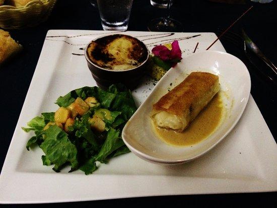 Hôtel Corail Residence: Un des délices du restaurant de l'hôtel