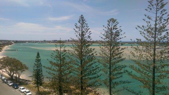 Ramada Golden Beach Resort: Loved the view