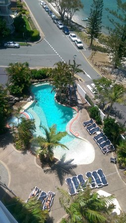 Ramada Resort Golden Beach : The view from the 8th floor - The spa was to die for ;)