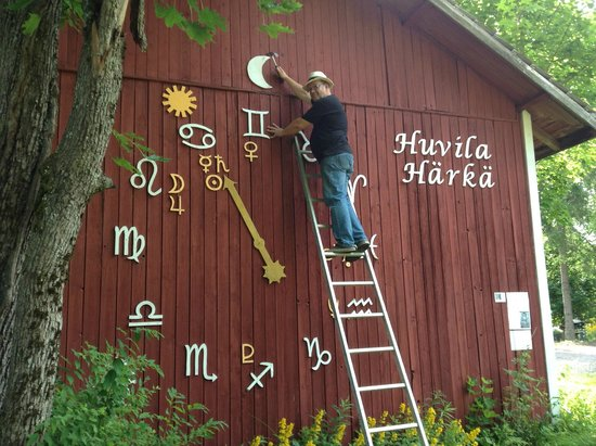 Somero, Finland: Astrological clock