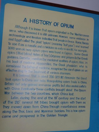 Verso il Nirvana? - Picture of Hall of Opium Museum, Chiang Saen - TripAdvisor