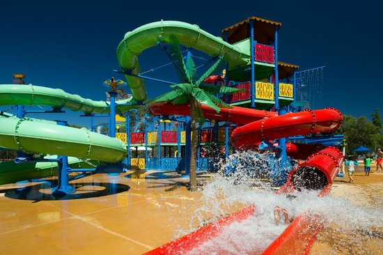 The Maze, Home of Outback Splash : Waterslide Playground