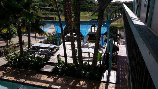 La Jamaca: Área de la piscina