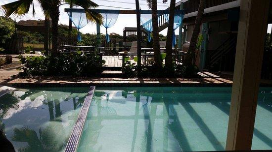 La Jamaca: La piscina