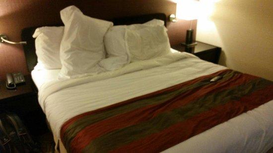 Vistana Penang Bukit Jambul : Big comfortable bed