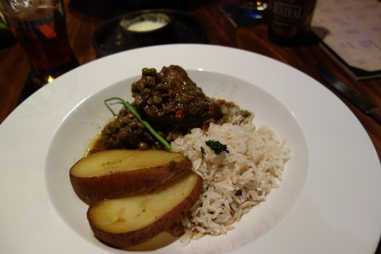 Rustika Restaurant: Cordero seco