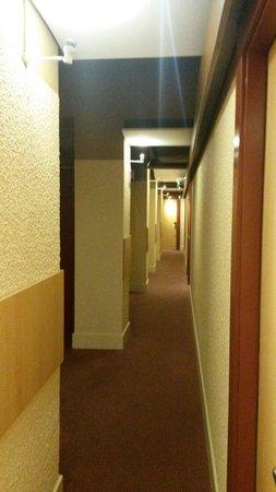 Ibis Besancon Centre Ville : Couloir du premier étage
