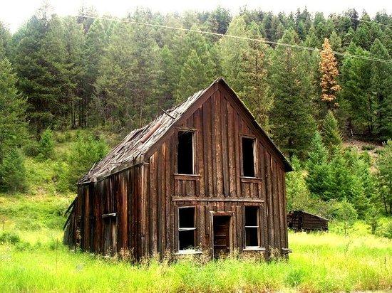 Okanogan, WA: Bodie farmhouse