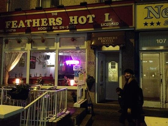 The Feathers Hotel: wot, no E?