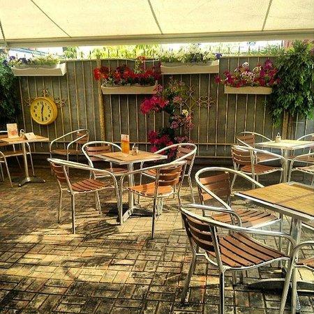 Dudki Bar: Летняя веранда
